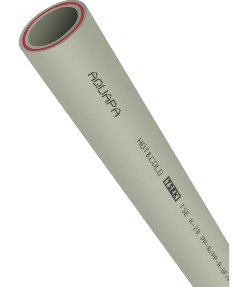 Труба водопроводная PP-RCT со стекловолокном (PN20)