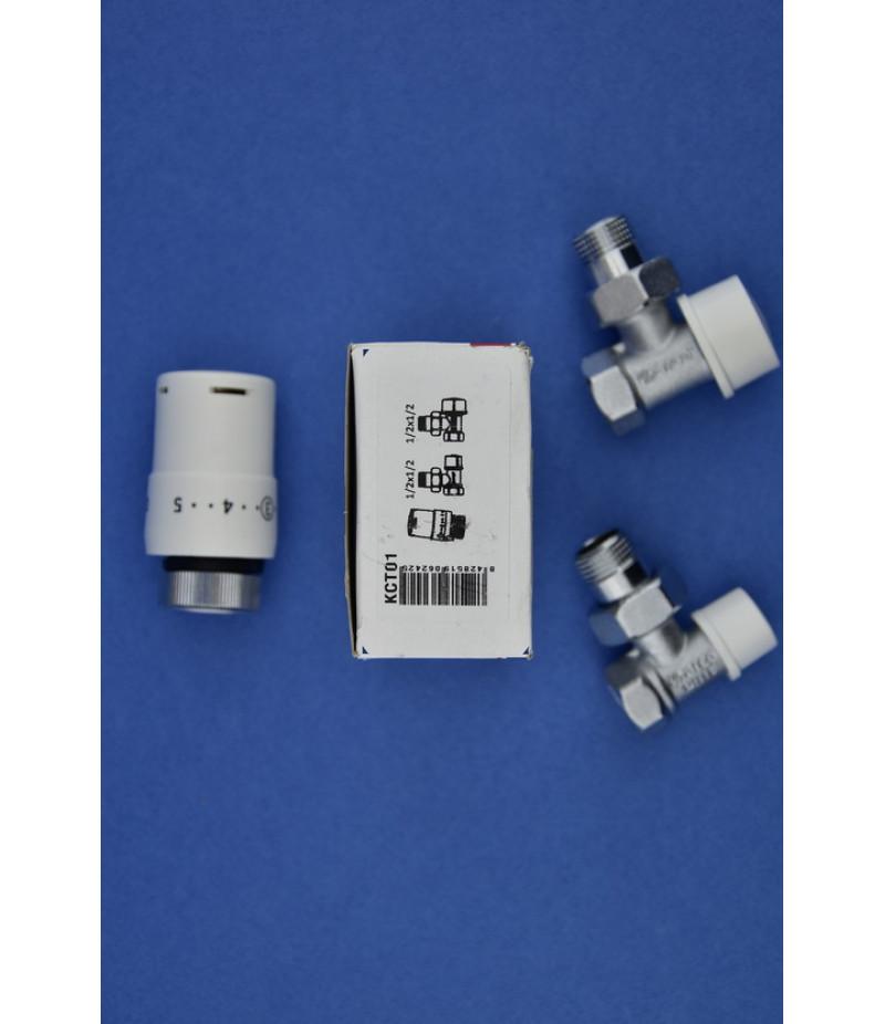 Arco KCT01 Термокомплект угловой 1/2х1/2