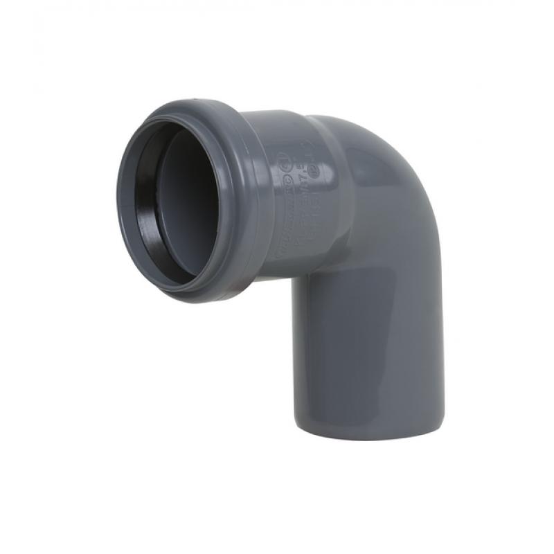 Колено кан. внутреннее диам.40 мм