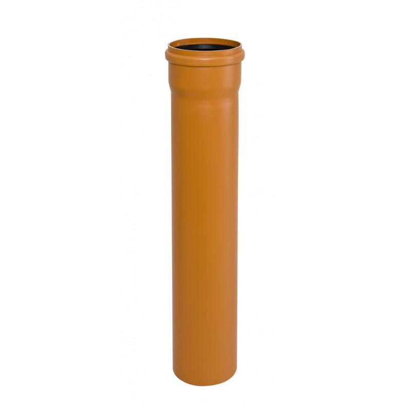 Instalplast Труба канализационная наружная ПВХ SN8 110x500 (3.2мм)