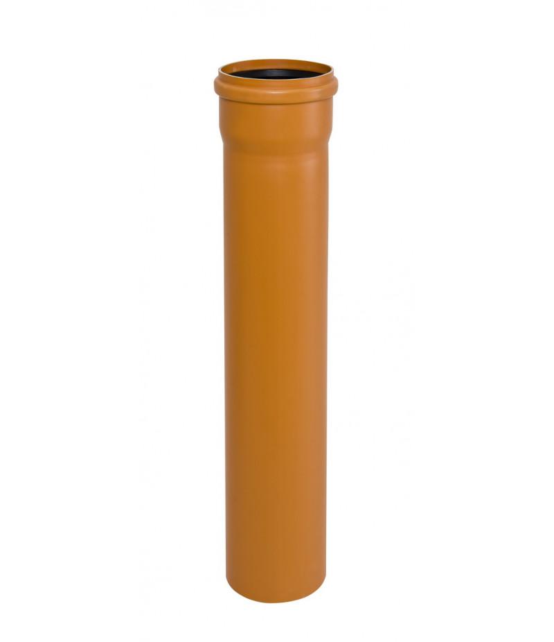 Труба кан. наружная ПВХ диам.110 мм (SN4 3,2 мм)