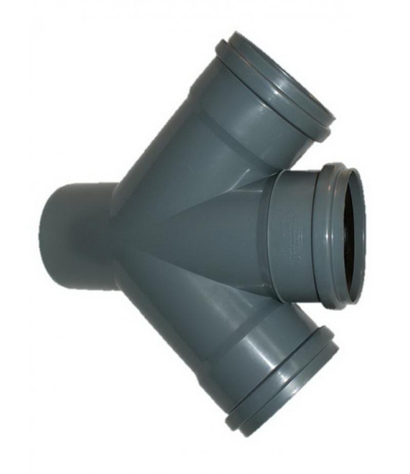 Тройник кан. внутренний диам.110х110 мм