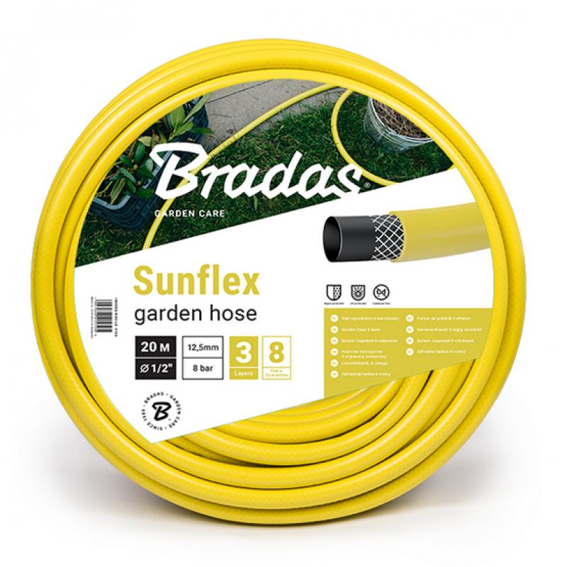 Шланг садовый армированный Bradas SUNFLEX