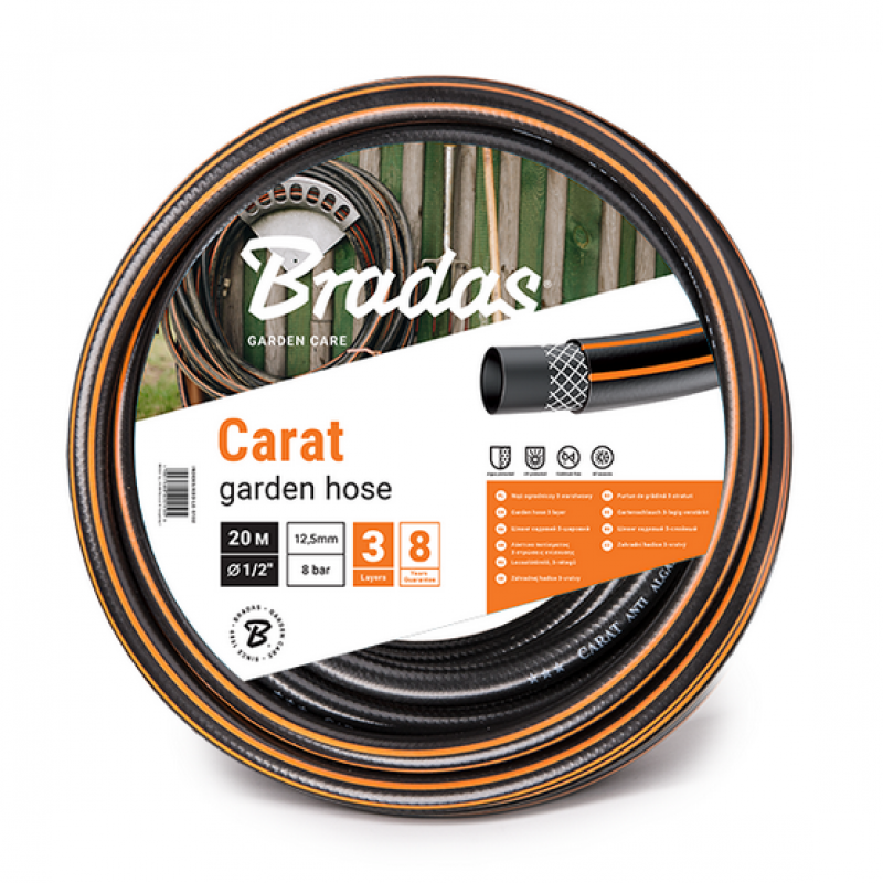 Шланг садовый армированный Bradas CARAT