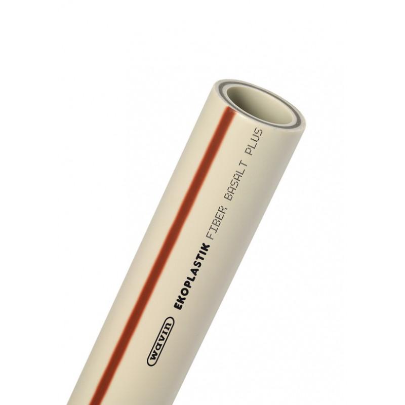 Труба водопроводная PP-RCT FIBER BASALT PLUS (PN 28)