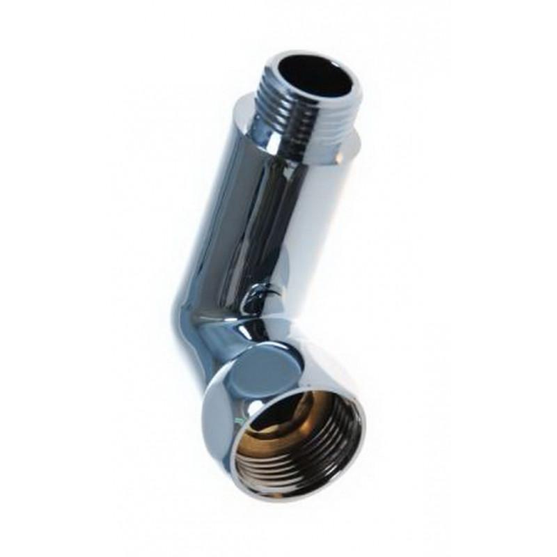 Соединение угловое гайка-штуцер для п/сушителя, хром.